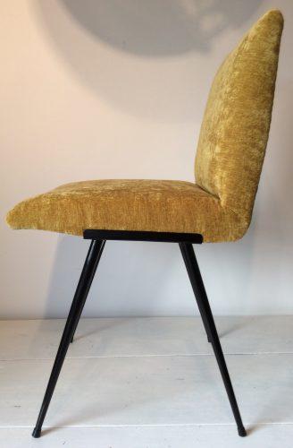 Paire de chaises Vintage Golden