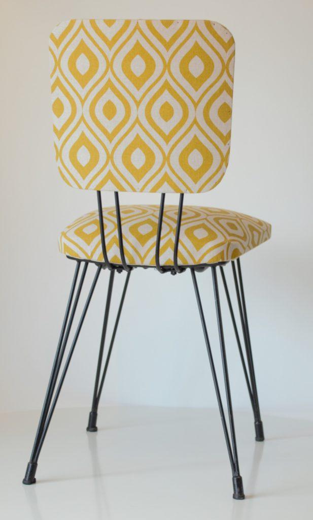 chaise des annes 70 aux pieds eiffel - Chaise Annee 70