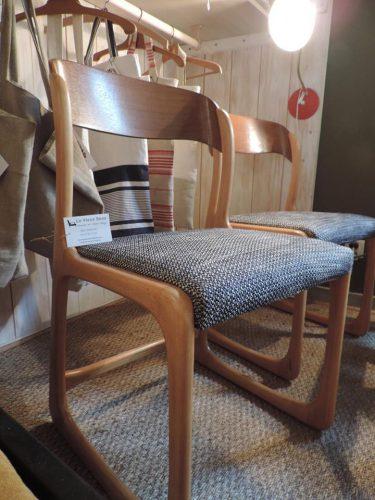Chaises Baumann vintage disponibles sur l'île de Ré