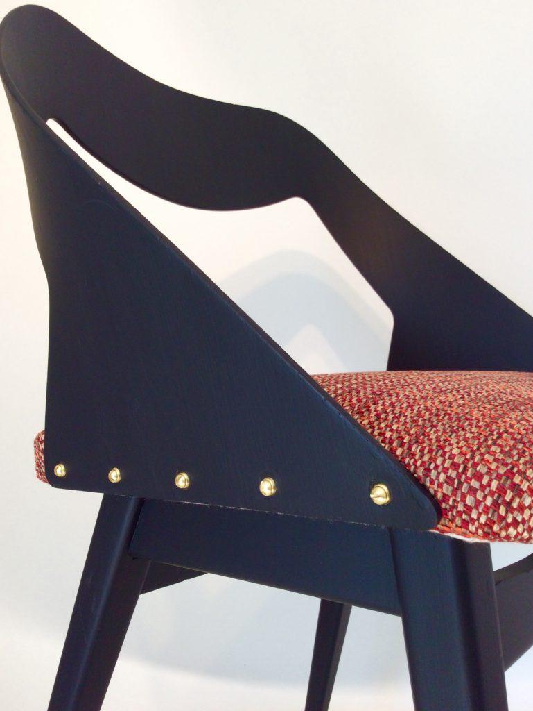 chaise Paolozzi Vintage Rénové