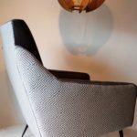 Paire de fauteuils Grey des années 60