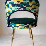 Paire de chaises PELFRAN des années 60