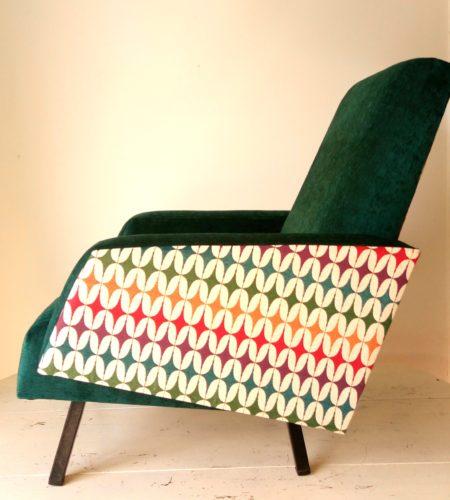 Fauteuil des années 50 ColorFull