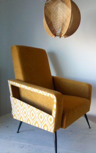 Une paire de fauteuil 50's pour Corinne