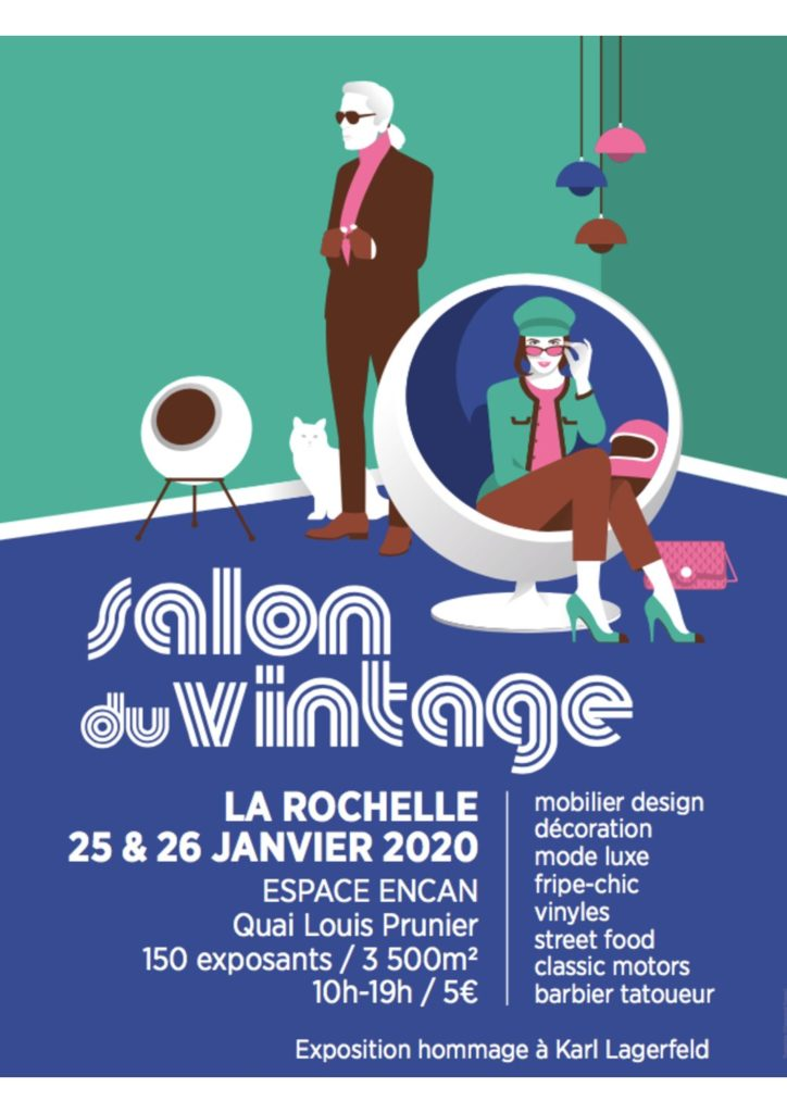 Première édition du Salon Du Vintage à La Rochelle les 25 & 26 Janvier 2020