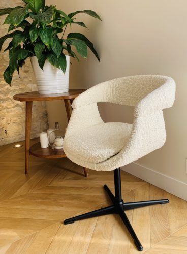 Le fauteuil de bureau de Clémence